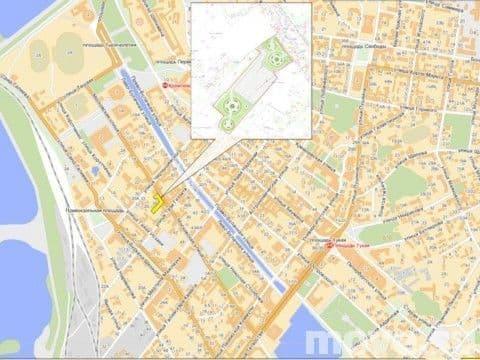 ...Московская (соседний дом 28), рядом... участок в центре Казани на ул. Московская 24 сотки в собственности.