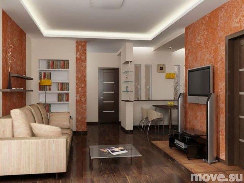 Гостиная комната фото в квартире