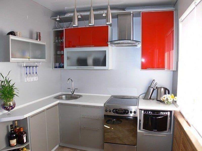 ремонт на 5 м кухне фото