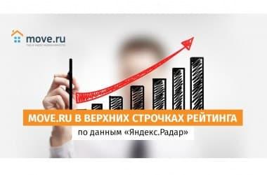 Move.ru стабильно занимает верхние строчки в рейтингах порталов