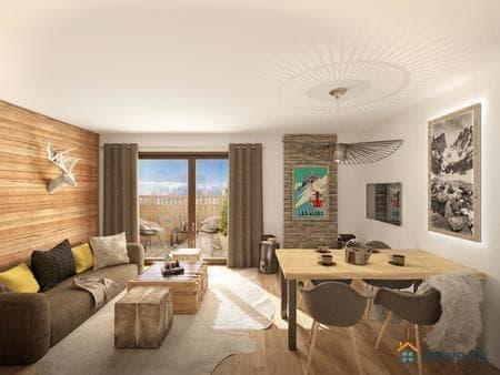 Продажа 3-комнатной квартиры, 45 м², Grenoble, Ле Дес Альп