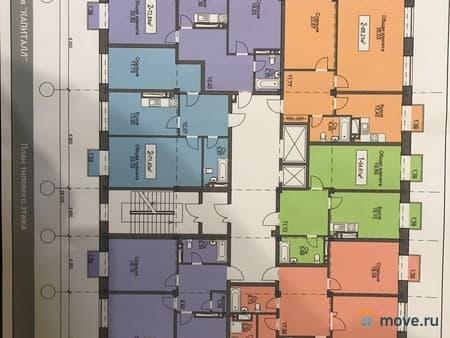 Продам 1-комнатную квартиру, 52 м², Махачкала, пр-т Насрутдинова