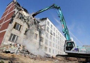 В Москве осталось снести 117 домов