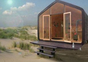 В Нидерландах построили картонные дома