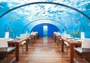 В Норвегии откроют ресторан под водой