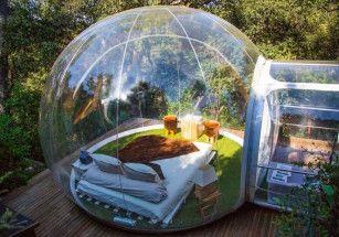 Исландцы приглашают туристов в отель из пузырьков
