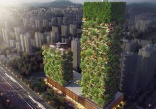 В Азии стоят все больше зеленых зданий
