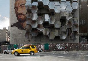 Нью-йоркские бездомные поселятся в навесных ячейках