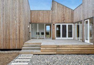 В Дании построили дом из биомусора