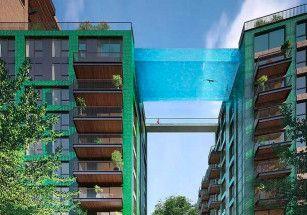 В Лондоне построят парящий бассейн