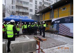 Министр внешней торговли и развития Финляндии Кай Мюккянен принял участие в церемонии закладки первого камня жилого комплекса «Аалто» в Москве