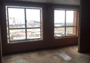 В Мытищах уже монтируют окна в строящейся 25-этажке