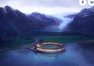 На Северном полюсе появится энергоположительная гостиница