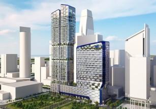 Сингапур развивает идеи зеленого строительства в бизнес-архитектуре