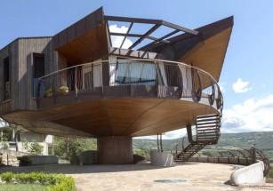 В Италии построили крутящийся дом