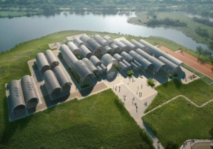 Начальную школу в китайской провинции по проекту Zaha Hadid Architects построят роботы