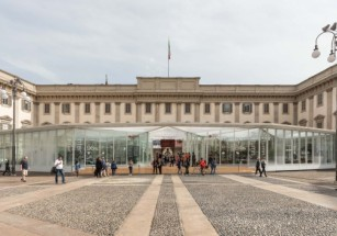 В центре Милана появился павильон на четыре времени года