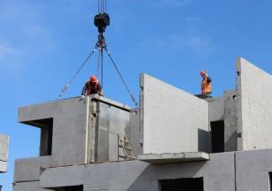 Одобрено сооружение современной панельной многоэтажной новостройки