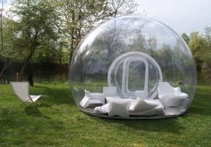 В Испании открывается отель, состоящий из прозрачных шаров