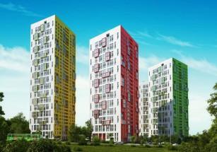 В западной части Москвы построят три многоэтажки в разной цветовой гамме