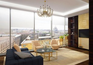 «Квадрат» апартаментов элит-класса за месяц подорожал на 7%