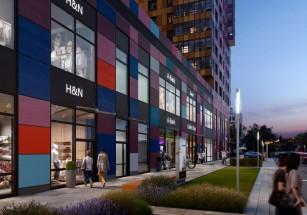 На первых этажах двух новостроек в ЮАО откроется более двух десятков магазинов