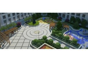 Во дворе элитного дома «ЖИЗНЬ на Плющихе» появится «танцующий» фонтан