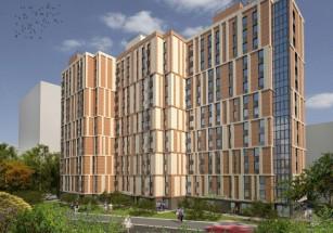 В САО возведут четыре многоэтажки с общей стилобатной частью