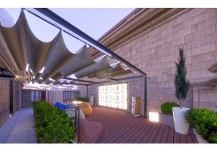 На крыше ЖК «Суббота» появятся кинотеатр, пляж и зона барбекю