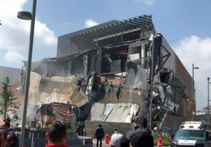 В Мехико обвалился новый торговый комплекс