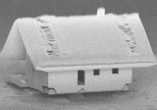 Во Франции построили микродом по нанотехнологиям