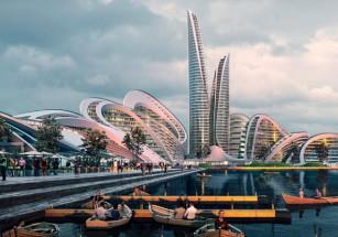 В Подмосковье построят «умный город» по проекту ZHA