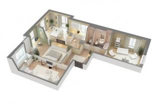 В Новой Москве стали покупать более просторные четырехкомнатные квартиры