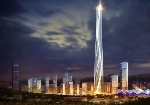 В Китае презентовали проект самого высокого здания в стране