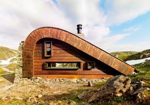 На севере Норвегии построили смотровые домики для туристов