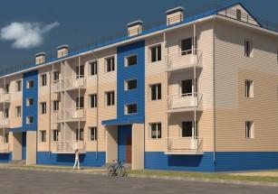 В НАО построят три малоэтажки почти на две сотни квартир