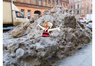 БФА: как победить снег и наледь на отдельно взятом переулке