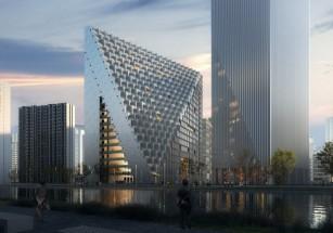 В Ханчжоу стартовали работы по возведению комплекса-призмы