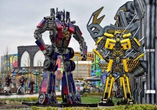 В Турции открыли мега-парк развлечений