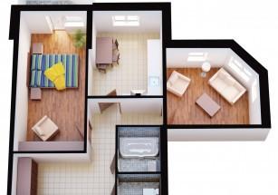 Сегодня средний метраж покупаемых квартир составляет 57 «квадратов»