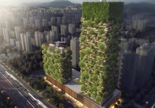 «Вертикальный лес» по проекту Боэри появился в Албании