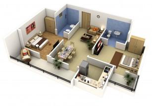 В каждом проекте бизнес- и премиум-класса продаются трехкомнатные квартиры