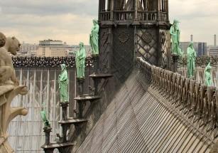 На кровле Собора Парижской Богоматери могут обустроить теплицу