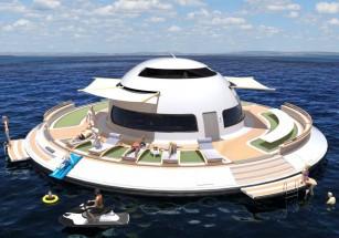 Дизайнер из Италии просит миллион долларов на проект дома на воде