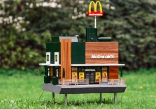 Миниатюрный McDonald's обслужит «тысячи гостей»