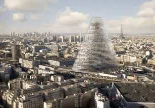 В Париже возводят высотку впервые за полвека
