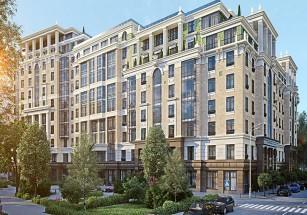 Пятая часть элитной недвижимости для найма сосредоточена на территории Арбат-Кропоткинская
