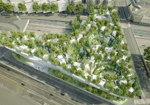 В промзоне в предместье Парижа построят зеленый квартал