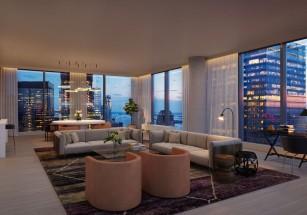 Средняя площадь премиальных апартаментов превышает 105 «квадратов»