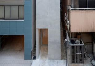 В Токио возвели офис шириной меньше 3-х метров